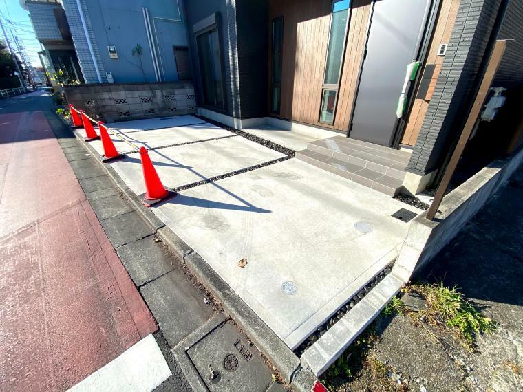 駐車場 カースペース部分