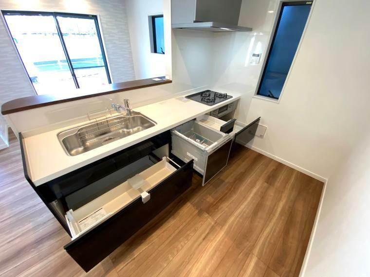 キッチン キッチン収納も大容量です
