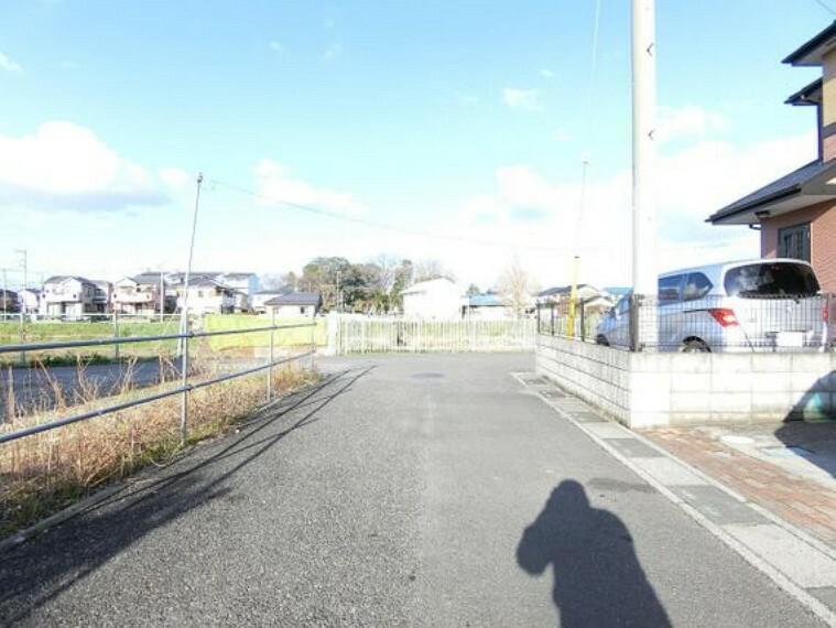 現況写真 東武伊勢崎・大師線「和戸」駅徒歩約5分の立地です。