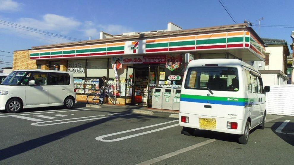 コンビニ 周辺 セブン-イレブン 藤井寺東藤井寺町店