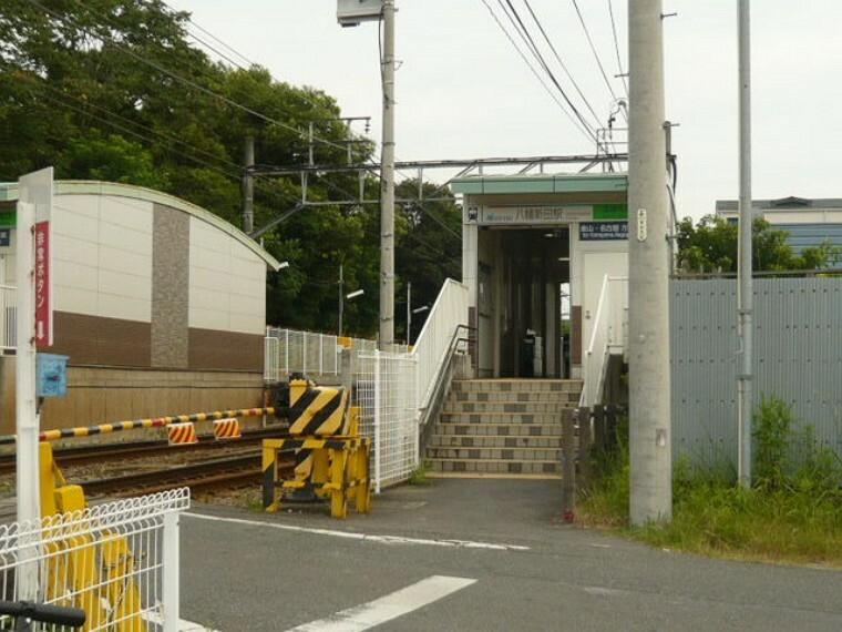 名鉄河和線八幡新田駅