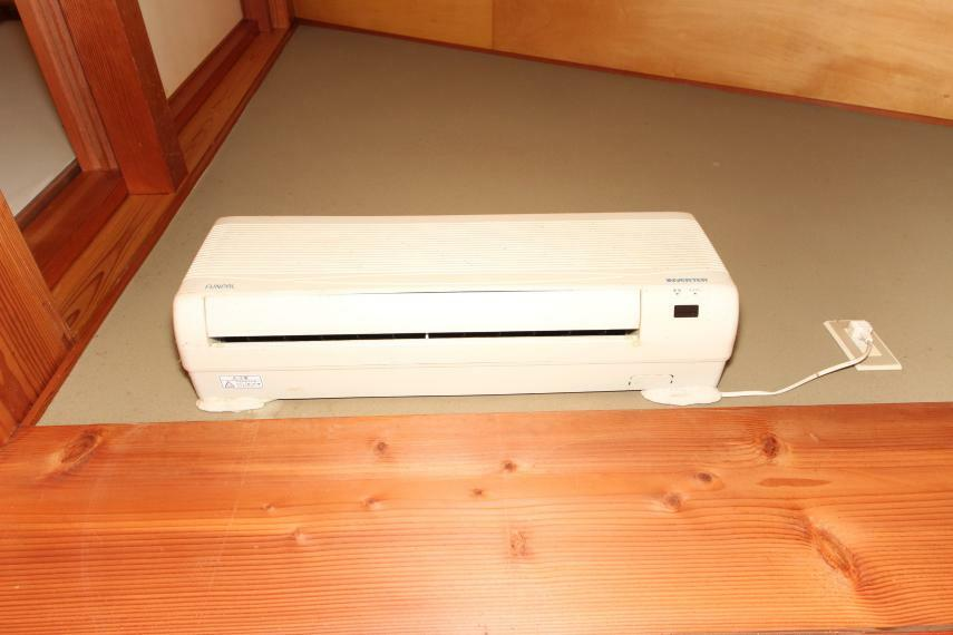 冷暖房・空調設備 エアコン完備!夏や冬に助かりますね~