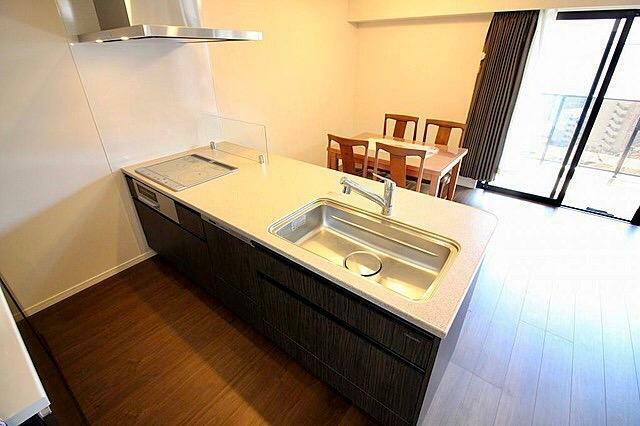 キッチン ビルトイン食器換気乾燥機付!