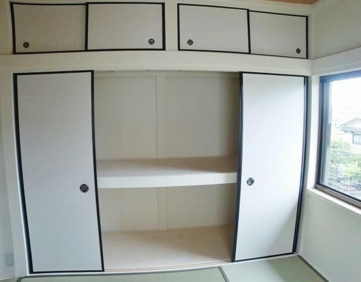 収納 2階和室収納