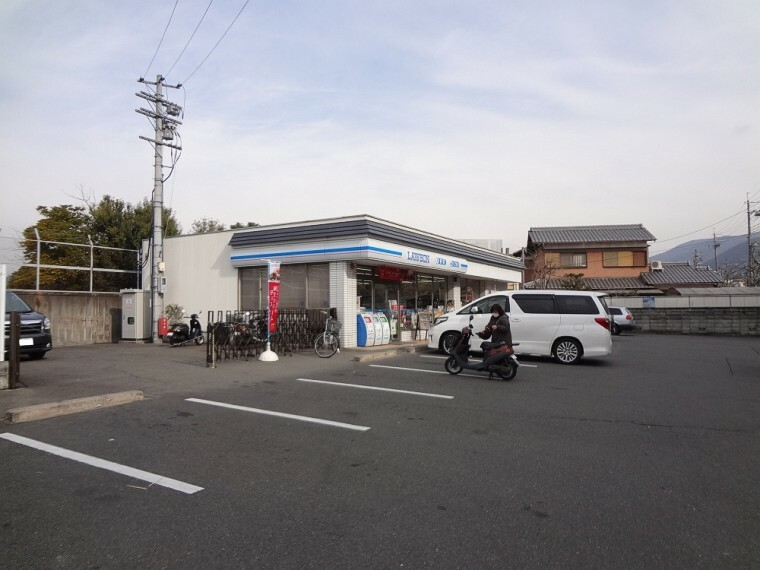 コンビニ 【コンビニエンスストア】ローソン醍醐多近田店まで900m