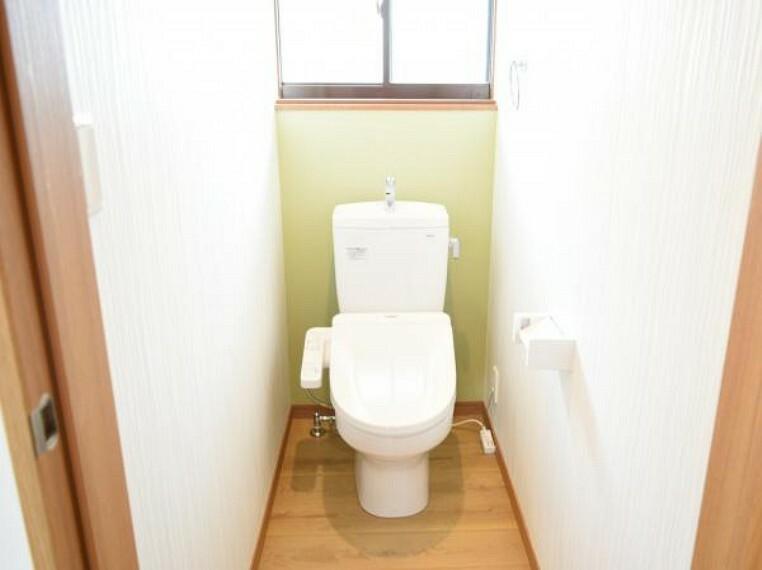 トイレ 【リフォーム済】TOTO製の洗浄機能付きトイレに交換しました。1年を通して快適にご使用いただけます