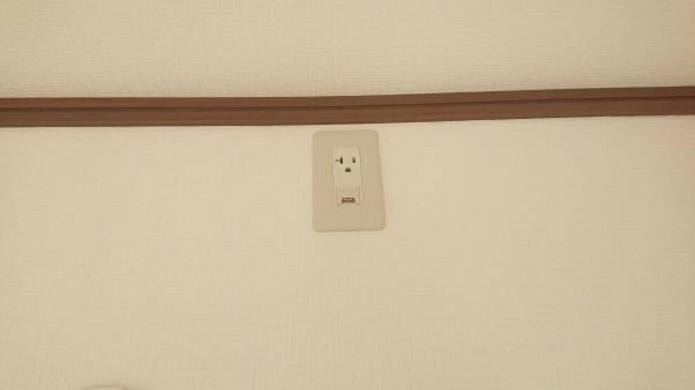 【リフォーム済】全居室にエアコンのコンセントを設置致しました。入居後にコンセント設置の手間が省けます。