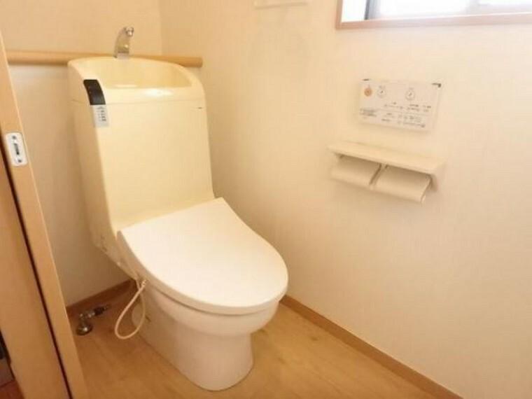 トイレ 清潔感溢れるトイレ。落ち着いた空間で安らぎのひとときをお過ごしいただけます。(5/3)