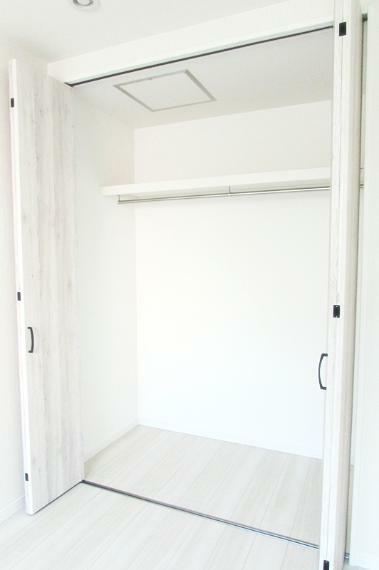 収納 新築施工事例です。全室収納あり!居住スペースを有効に使えます。