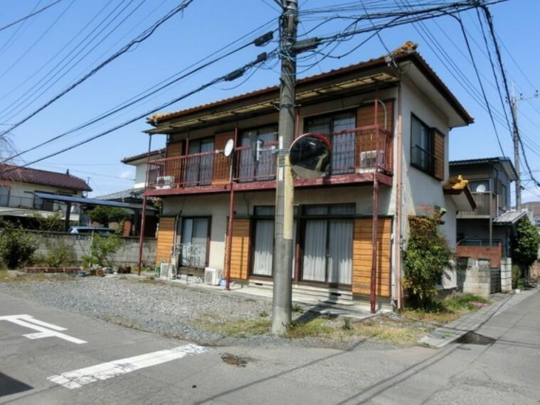 現況写真 小山市大字喜沢 建築条件無し売地 現地土地写真です(古家有)。