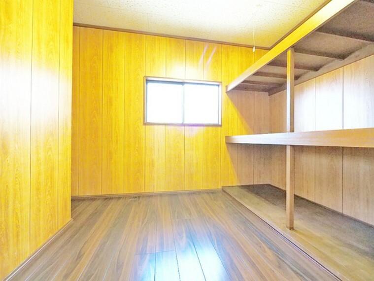 収納 納戸は、物置などにも使えるマルチスペース