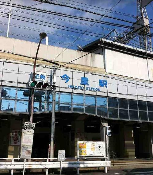 周辺の街並み 近鉄大阪線今里駅