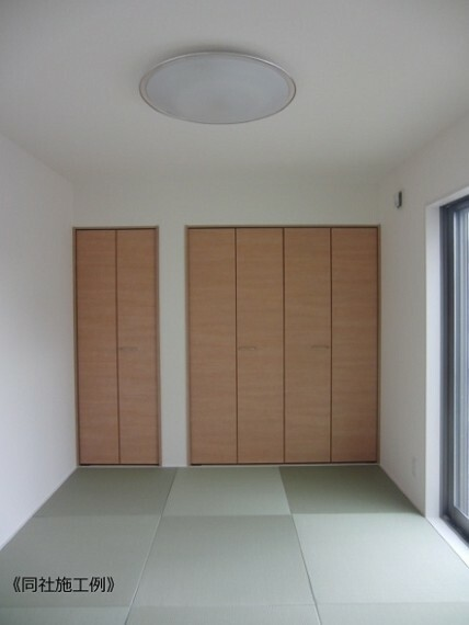同仕様写真(内観) リビングと一体で利用できる畳コーナー