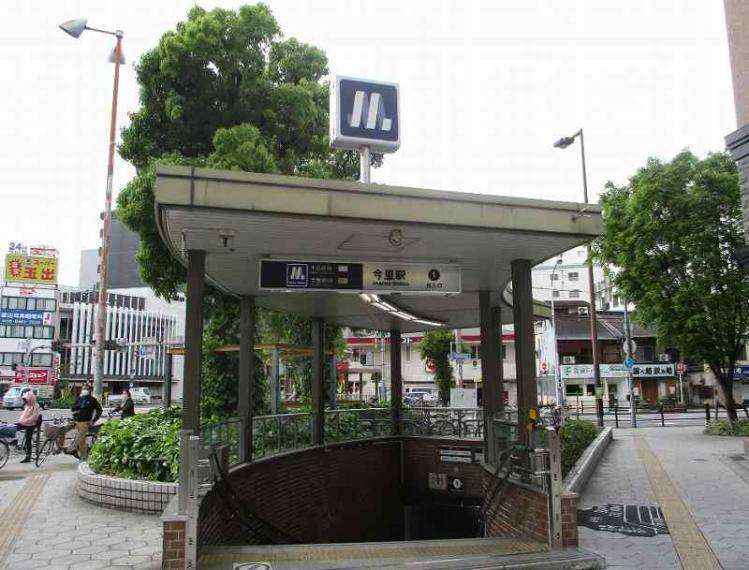 周辺の街並み 大阪メトロ千日前線今里駅