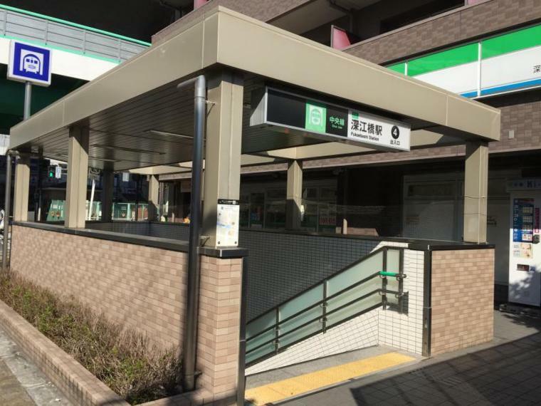 周辺の街並み 大阪市営中央線 深江橋駅
