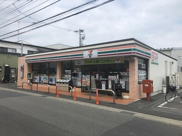 コンビニ セブンイレブン海老名中野店