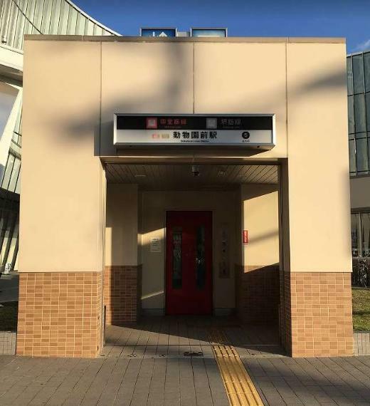 周辺の街並み 大阪市営御堂筋線 動物園前駅