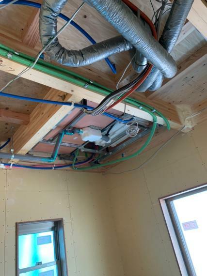 構造・工法・仕様 【第1種換気システム】パナソニック製24時間全熱交換換気システム採用。空気をきれいにする家を実現しています。