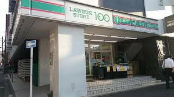 コンビニ 【コンビニエンスストア】ローソンストア100 新宿一丁目店まで810m