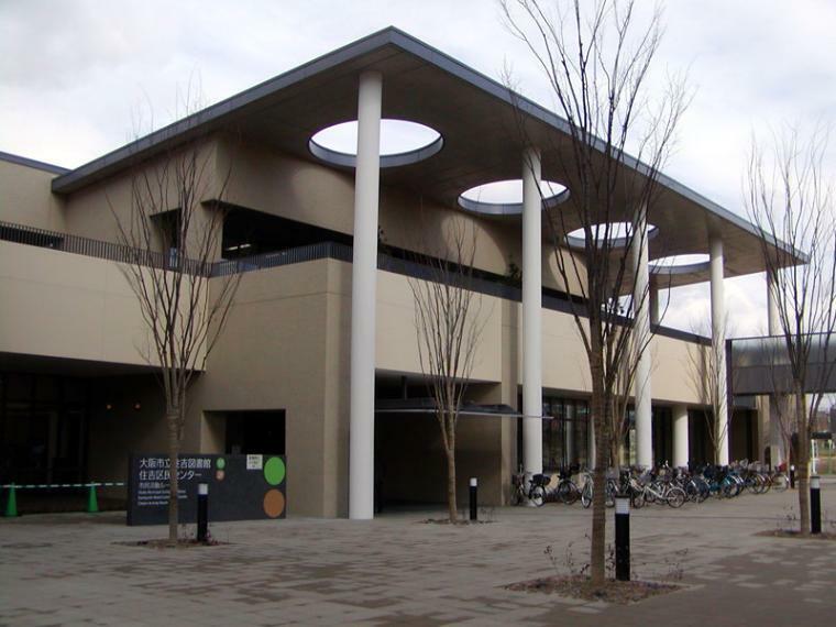図書館 大阪市立住吉図書館 大阪府大阪市住吉区南住吉3-15-57