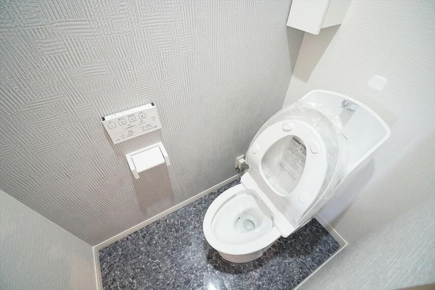 トイレ シンプルで落ち着く空間です。