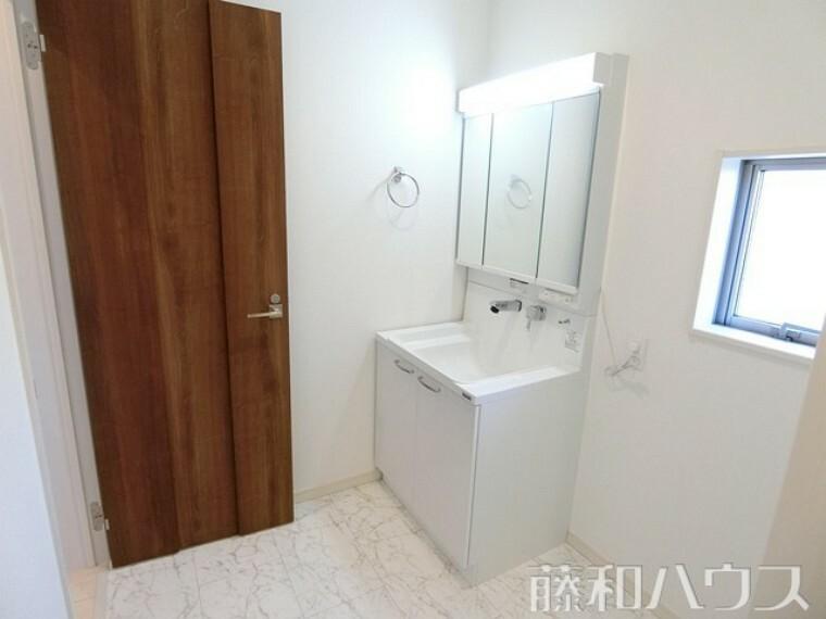洗面化粧台 3号棟 洗面室 【北名古屋市熊之庄十二社】
