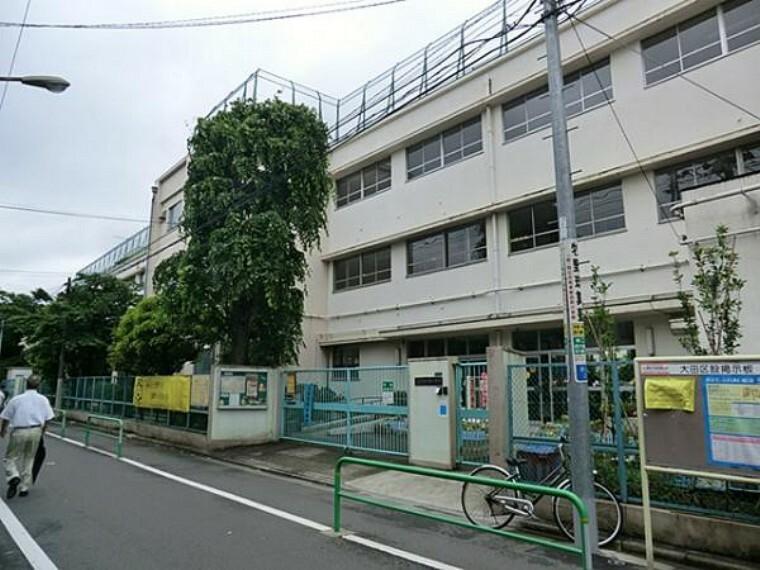 小学校 西六郷小学校 740m