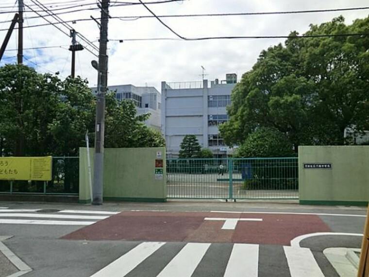 中学校 六郷中学校 400m