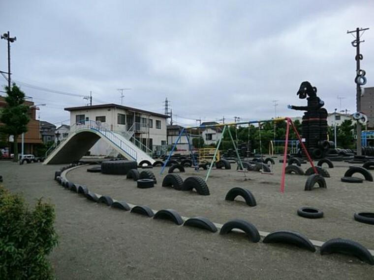 公園 西六郷タイヤ公園 1100m