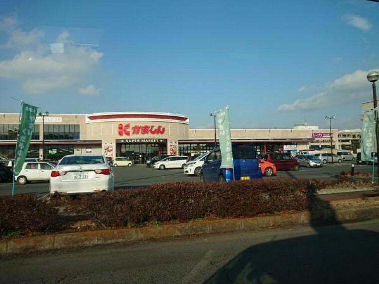 スーパー 【近隣施設/スーパー】かましん下館店様まで200m(徒歩3分、車1分)。日々のお買い物に欠かせないスーパーは徒歩でも遠くない距離。歩いて行ける距離にスーパーがあると買い忘れがあってもすぐにお買い物できるので便利ですね。