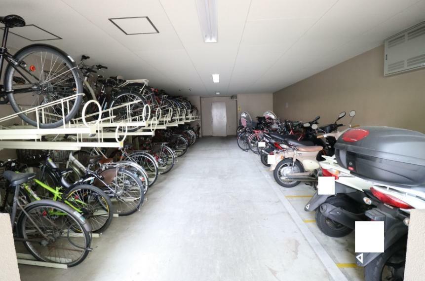 駐輪場 駐輪場、バイク置場ございます。