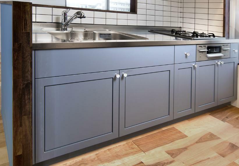 ■キッチン例 キッチン取替(同一プラン)工事費90万~(価格に含みません)