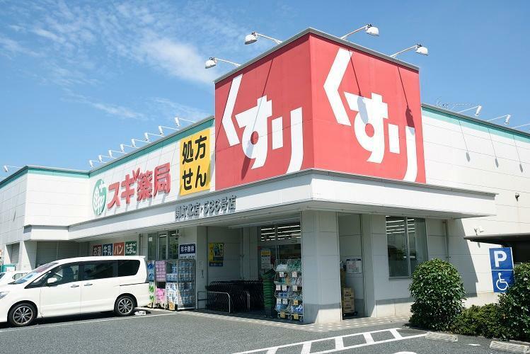 ドラッグストア スギ薬局関町北店 医療品や食料、化粧品などが揃っており、処方箋にも対応しています。(2019年10月撮影)