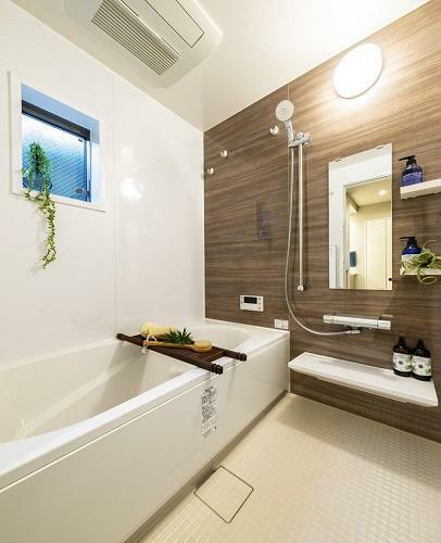 浴室 掃除しやすく快適なバスルーム。(モデルハウス20号棟2020年7月撮影)※家具・調度品は販売価格に含まれません。