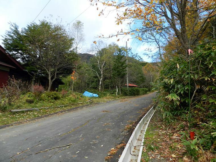 現況写真 前面道路写真(2017年10月撮影)