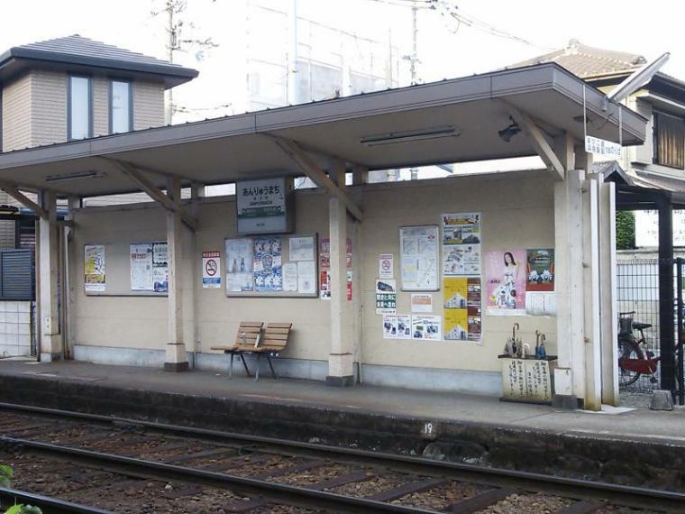 周辺の街並み 阪堺電気軌道阪堺線   安立町駅
