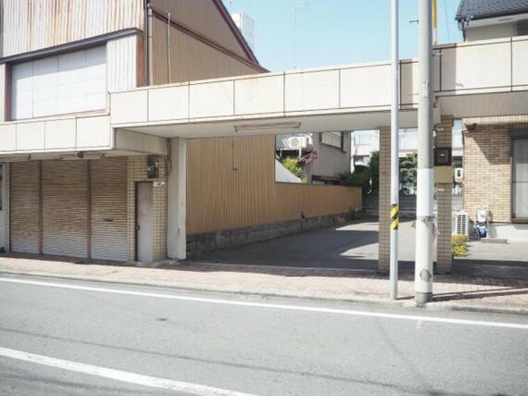 現況写真 磐田市中泉 建築条件無し売地 現地土地写真です。