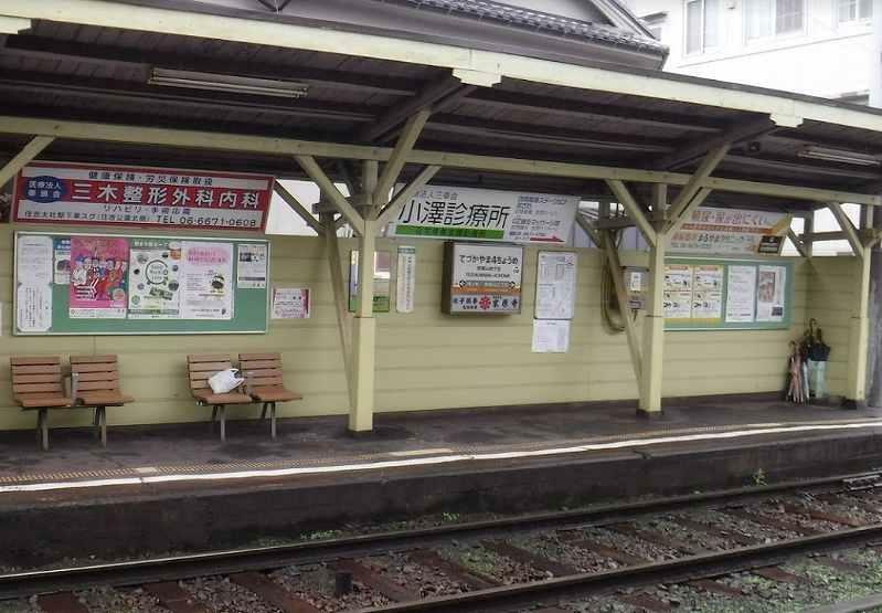 周辺の街並み 阪堺電気軌道上町線 帝塚山4丁目駅