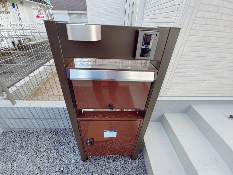 共用部・設備施設 夫婦共働き世帯に嬉しい宅配ボックス付き。 不在時でも荷物の受け取りができます。