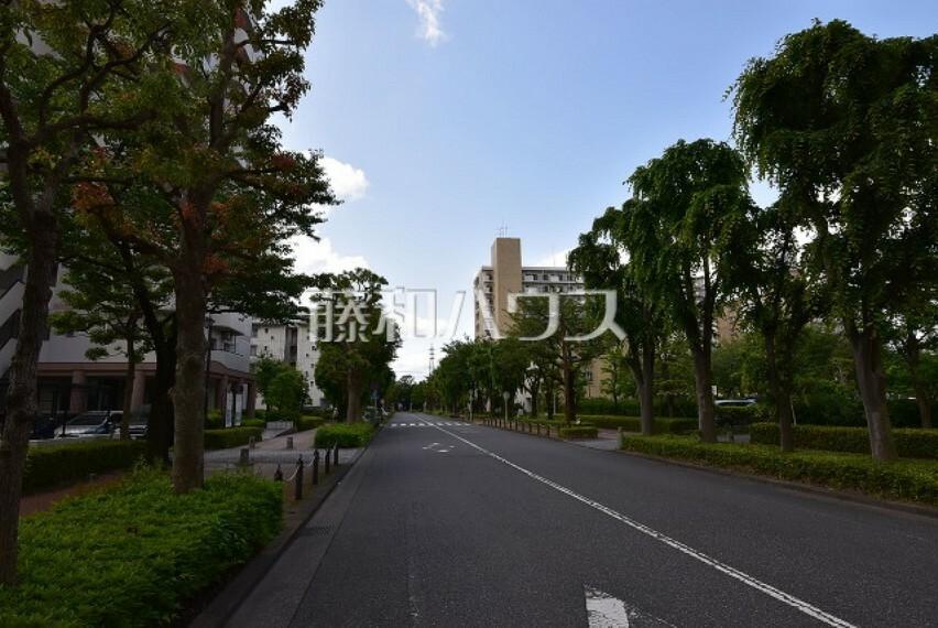 周辺の街並み 駅までの道は無電柱化地域が多く街並みも綺麗です