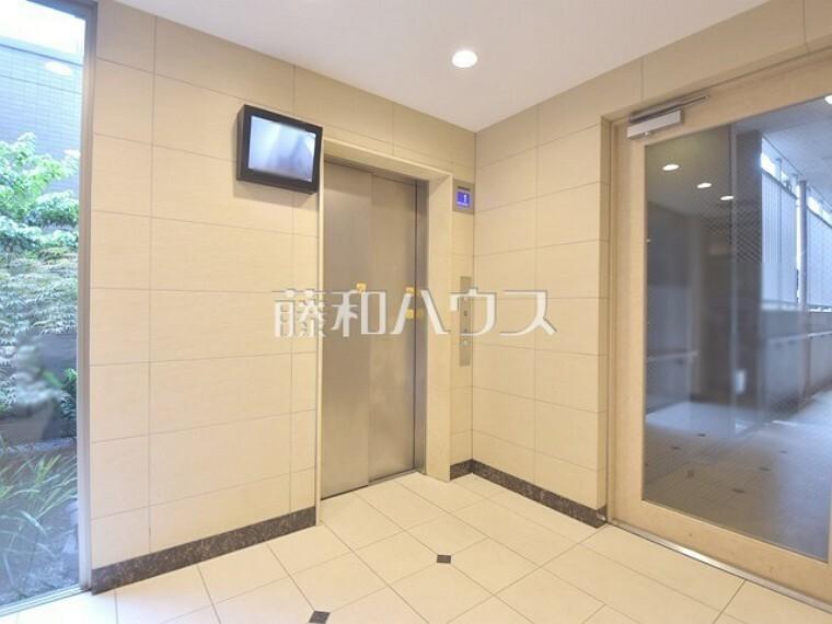エレベーターホール【ポレスター玉川上水】