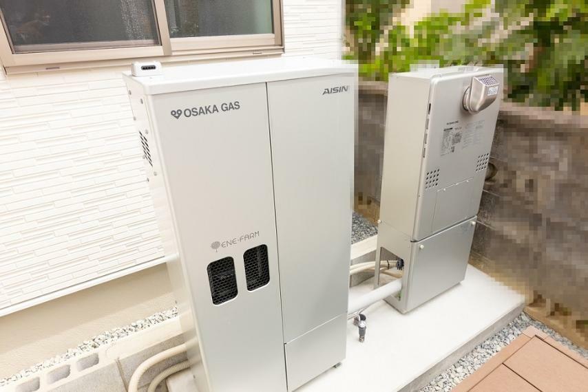 発電・温水設備 【ソラエネスマート】 毎月かかるランニングコストも抑えられるソラエネスマート付きのお家です!