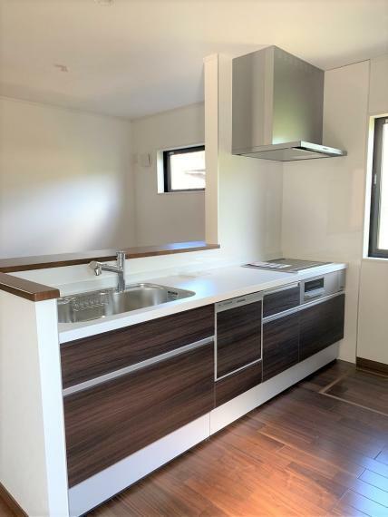 キッチン カウンターキッチン IHクッキングヒーター、食洗機、浄水器