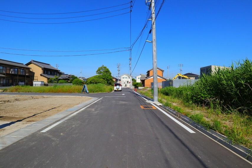 現況外観写真 南側前面道路