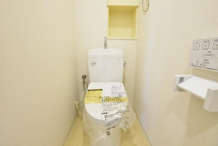 トイレ 清潔で快適なウォシュレット付トイレです。