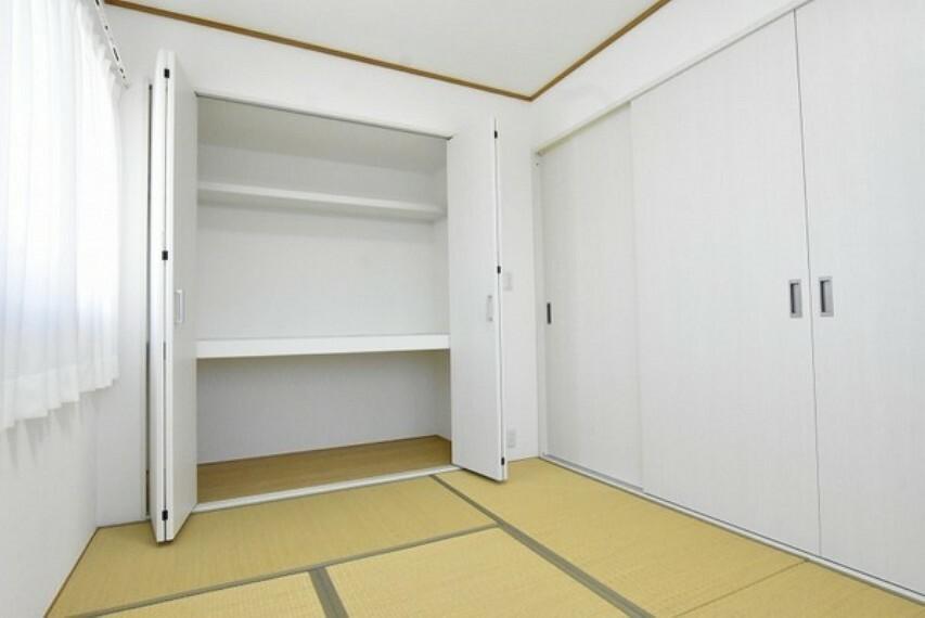 収納 各居室には使い勝手の良い収納をご用意しました~たくさんの荷物もスッキリと片付きそうですね