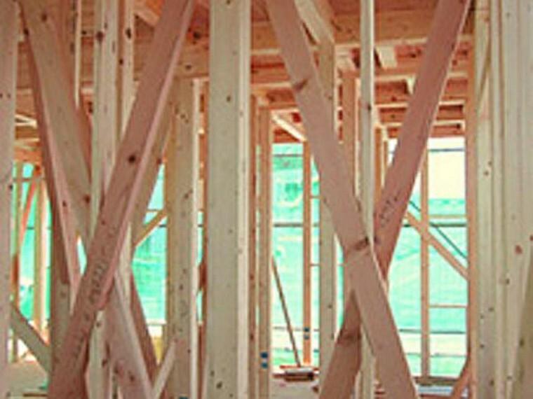 構造・工法・仕様 木造軸組工法。接合部には補強金物取り付け、床には構造用合板を使用するなど、強い耐震性・耐久性を発揮しています 。