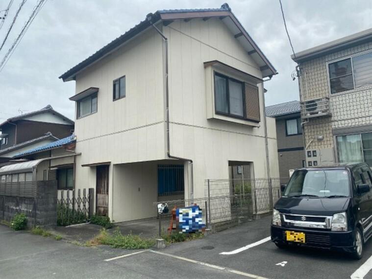 現況写真 浜松市浜北区横須賀 建築条件無し売地 現地土地写真です(古家有)。