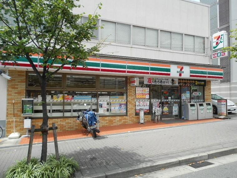 コンビニ 【コンビニエンスストア】セブン-イレブン神戸御屋敷通3丁目店まで520m