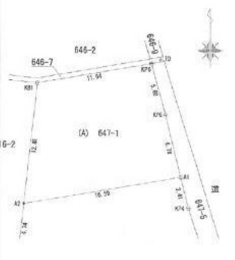 区画図 JR御殿場線「上大井」駅より徒歩1分の立地です